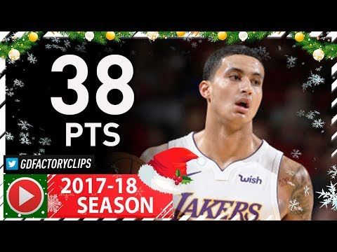 Kyle Kuzma CRAZY Full Highlights Vs Rockets (2017.12.20) - Career-HIGH 38 Pts, 7 Reb