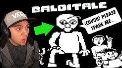 Should I Spare Baldi? | Baldi's Basics in Undertale (Fan Game)