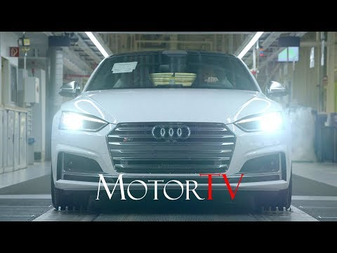 CAR FACTORY : 2017 AUDI RS5 COUPE' l S6 l Q2 PRODUCTION (NO MUSIC) l Ingolstadt Plant (GER)
