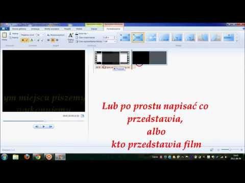 Jak działa Windows Live Movie Maker.wmv