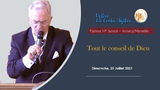 2021-0725 Tout le Conseil de Dieu   Fr Jannot