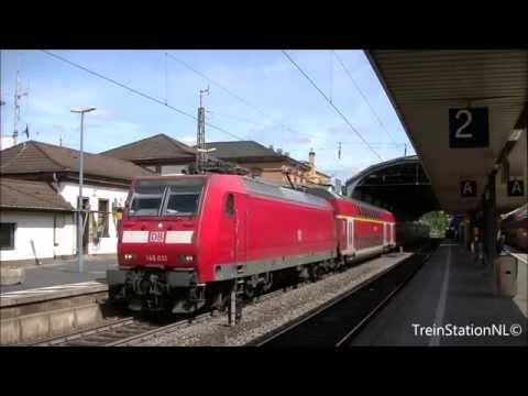 Vertrek DB 146 031 + Dubbeldekker Station Bonn