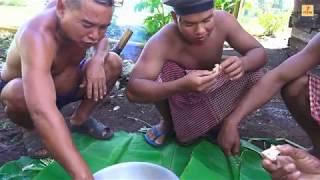 Gà Nướng Ống Tre Của Người Campuchia