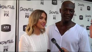 ATX Television Festival 2017 - Arielle Kebbel and Peter Mensah talk