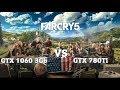 FarCry 5 - GTX 1060 3Gb vs GTX 780Ti - 1080p - Ultra