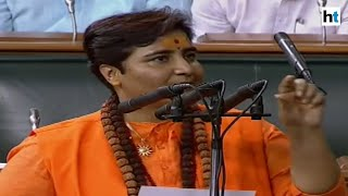 Uproar in Lok Sabha over Pragya Thakur's oath taking ceremony