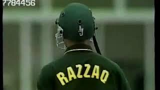 Abdul Razzaq 112 - FIRST ODI CENTURY - Vs South Africa (2nd ODI) at Port Elizabrth 2002/03
