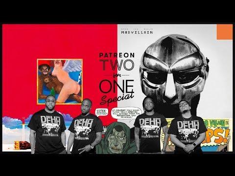 Kanye West - My Beautiful Dark Twisted Fantasy & Madvillain - Madvillainy Classic Album Reviews