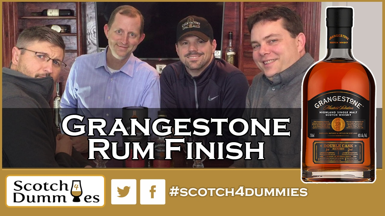 grangestone double cask matured rum finish scotch whisky review 93