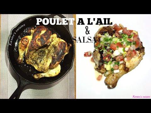 poulet-à-l'ail-sauce-chien-#cookwithme