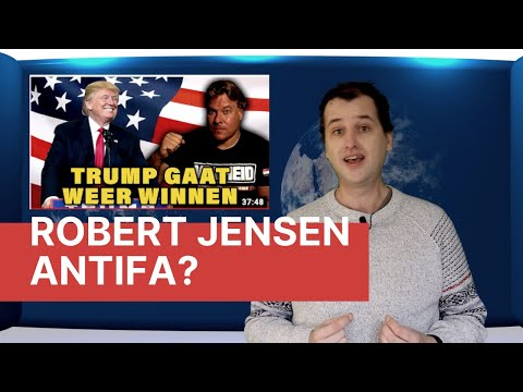Robert Jensen Antifa?