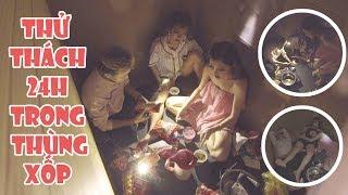 LA LA SCHOOL | THỬ THÁCH 24H SỐNG TRONG THÙNG XỐP | CHALLENGE SERIES - DÁM LÀM KHÔNG?