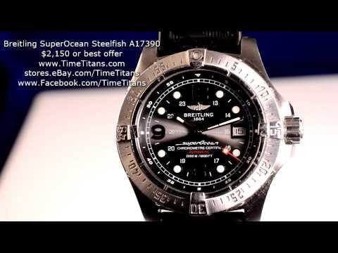 Breitling Superocean A17390