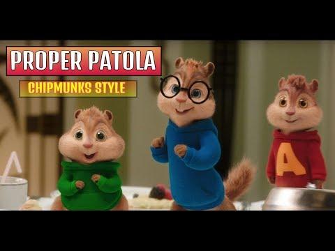 Proper Patola - Chipmunks Style  | Animated Video | Lyrics | CHOLLY