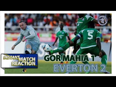 Rooney's Return | Gor Mahia 1-2 Everton | Match Reaction