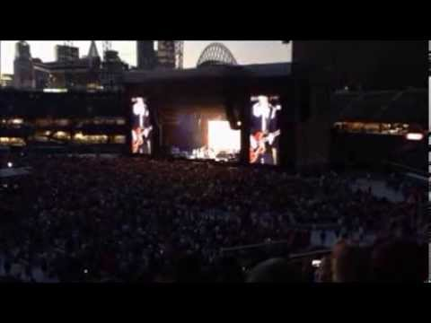 Paul McCartney concert in Seattle, Washington July 19th, 2013