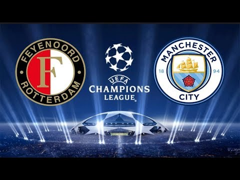 Feyenoord vs Manchester City 0-4 All Goals , Highlights 13 September 2017
