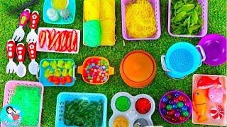 เปิดร้านหมี่เกี๊ยว เล่นทำอาหาร ของเล่นเครื่องครัว Kitchen Coocking Toy Play