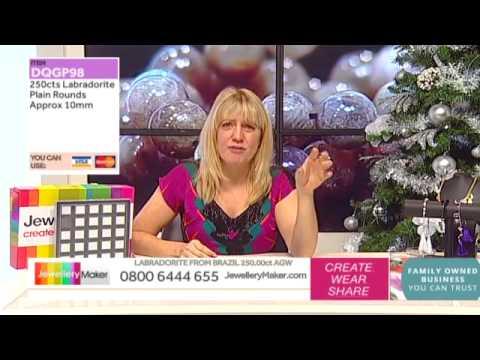 How To Make Macrame Jewellery - JewelleryMaker LIVE (am) 24/11/2014