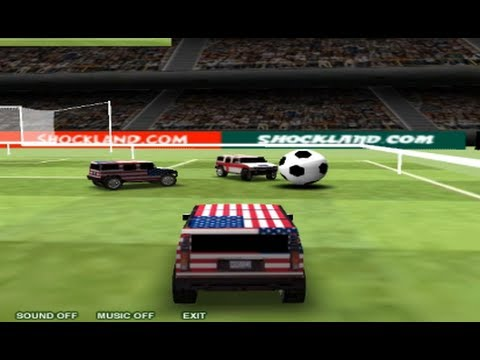 Hummer Football Game World Hummer Cars Soccer Cup - Best Kid Games - YouTube