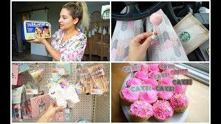 Girly Vlog: BAKING, TJMAXX SHOPPING, SKINCARE ROUTINE