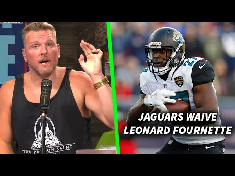Pat McAfee & Maurice Jones-Drew Talk The Jaguars cutting Leonard Fournette, Potentially Tanking