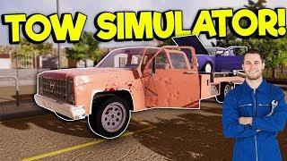 TOWING CARS & RUNNING OVER THE NEIGHBORS! - Trailer Park Mechanic Gameplay