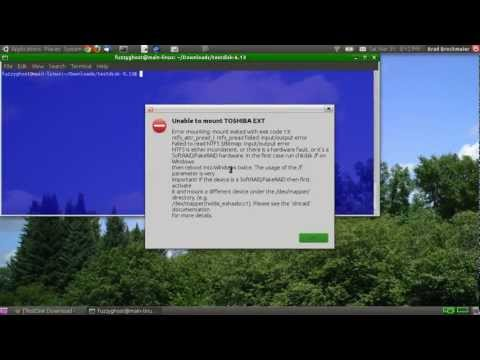 Test Disk - How to Recover Files from a Faulty Hard-Drive