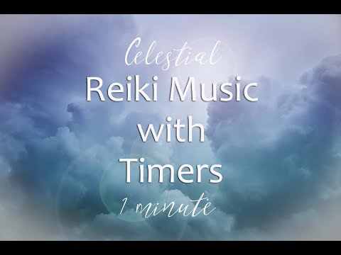 Reiki Timer 1 Min -  Reiki Healing Music  with Bells Every 1 Minutes - 26 Positions