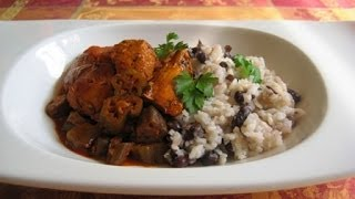 Belizean Chicken - Caribbean Food - Modified Healthy Version (not Authentic)