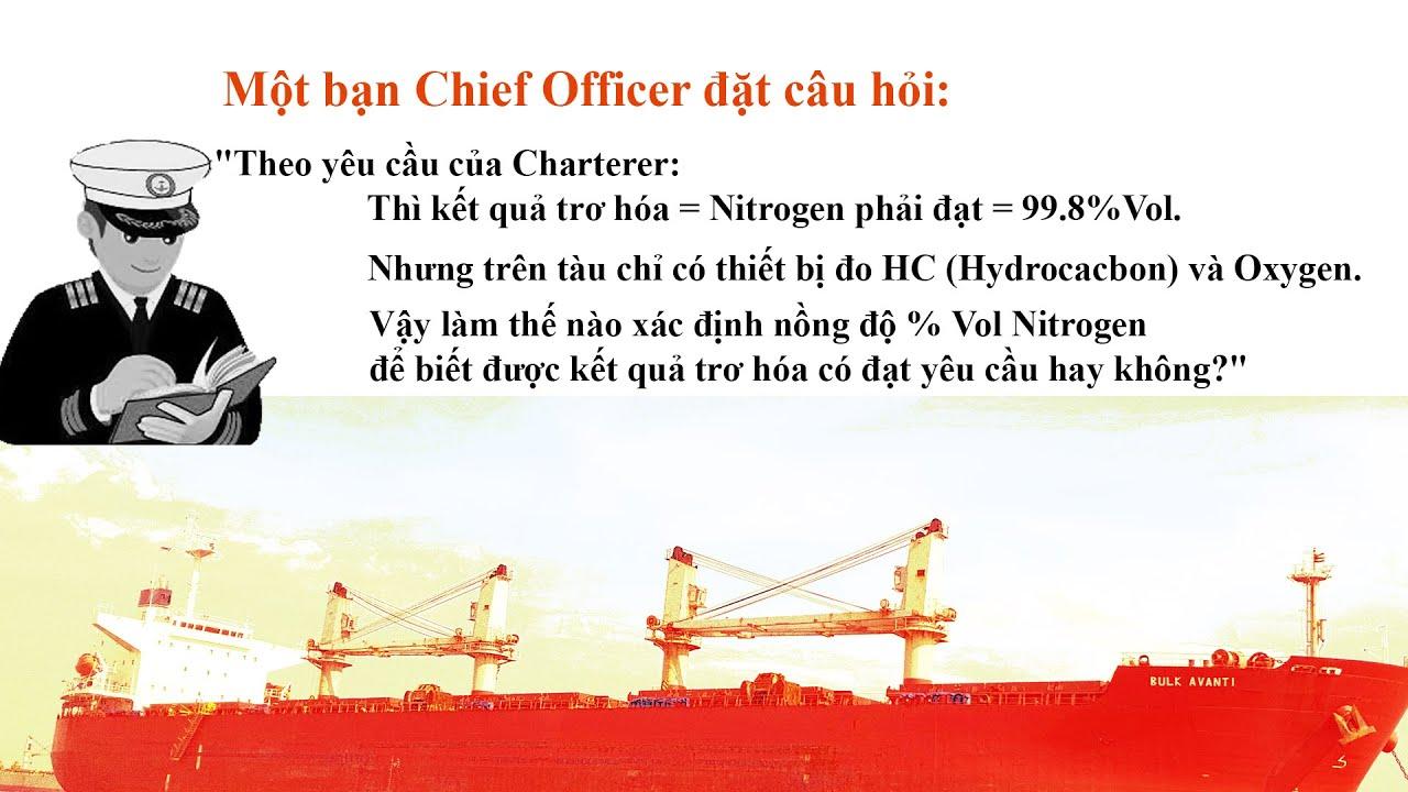Cách sử dụng thiết bị đo hydrocarbon trên tàu – [Hỏi & Đáp với Capt. Quoc Tran]