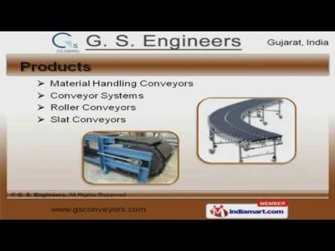 Material Handling Equipment & Conveyor System By G. S. Engineers, Ahmedabad