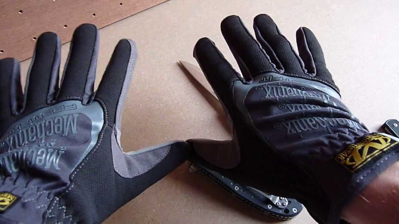 Mechanix Fastfit Gloves Youtube