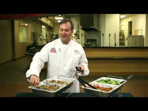Catering Tips: How to Boost Restaurant Sales with Drop off Catering & Sterno's Catering Set