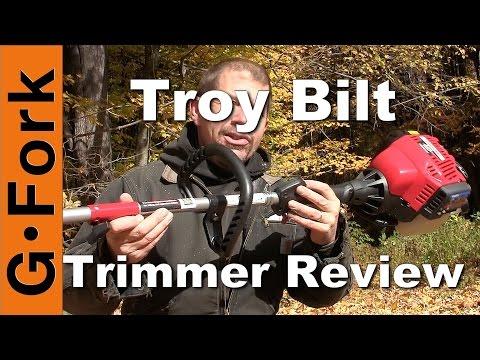 Troy Bilt String Trimmer Review - GardenFork