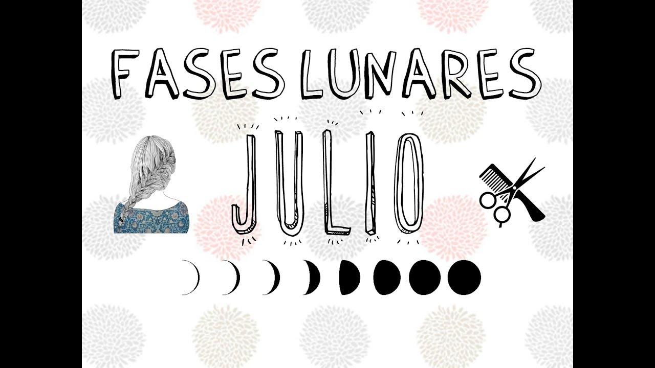 Fase Lunar Para Corte De Cabello Julio