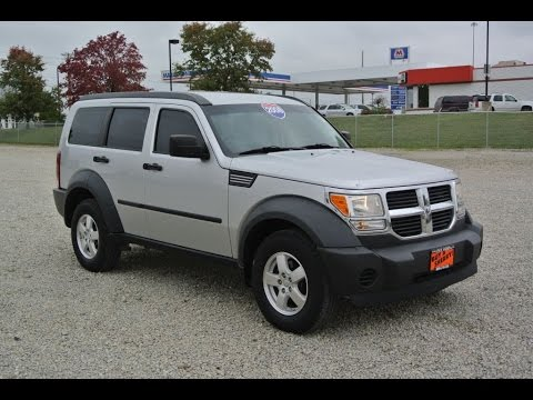 2008 dodge nitro sxt for sale dayton troy piqua sidney ohio cp14013at youtube. Black Bedroom Furniture Sets. Home Design Ideas