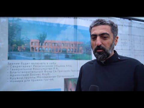 Ваган Симонян живет интересами Одесской армянской общины, помогая не на словах, а на деле