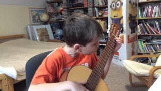 обучение на гитаре бесплатно  - упражнение  N 1 www.speshcompany.ru