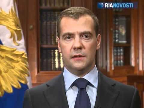 Medvedev outlines Russia's response to U.S.-backed European missile shield plans
