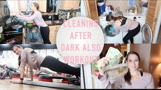 Clean After Dark (So Trendy) + Workout With Me + New Yoga Clothes! YES!