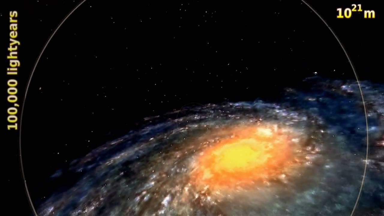 The Powers of 10 - Wie groß ist das Universum?