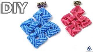 How to Make Macrame Celtic Knot Pendant DIY