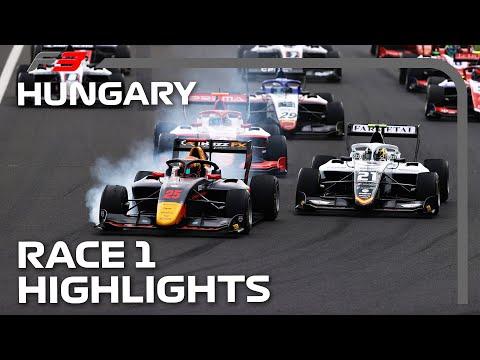 F3 Race 1 Highlights | 2021 Hungarian Grand Prix