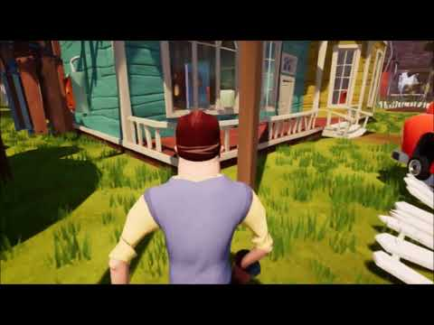 Hello Neighbor NEIGHBOR in THIRD PERSON