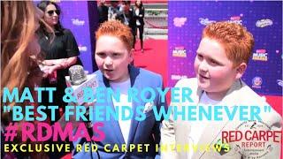 Matt & Ben Royer #BFW at the 2016 Radio Disney Music Awards #RDMAs #RedCarpet