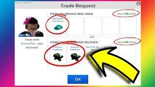 TRADING FOR DOMINUS PRAEFECTUS! (Roblox Trading)