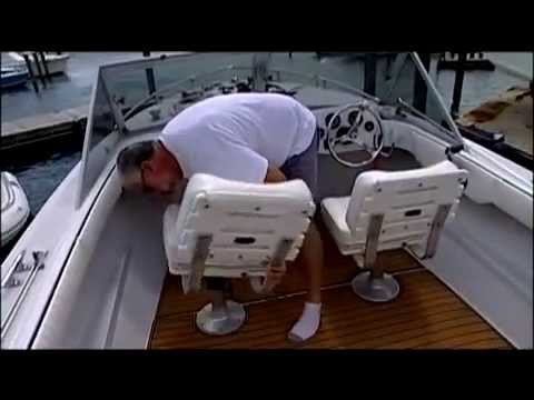 SeaDeking a 1966 Bertram - SeaDek on Ship Shape TV