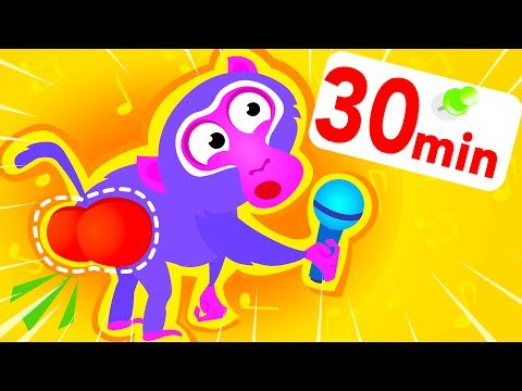 Where Is My Bum? Help The Baboon, Sing Along And Learn Lyrics! by Little Angel