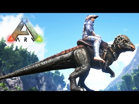 NUEVO DINOSAURIO!! CAPTURANDO PACHYCEPHALOSAURUS! - ARK: Survival Evolved